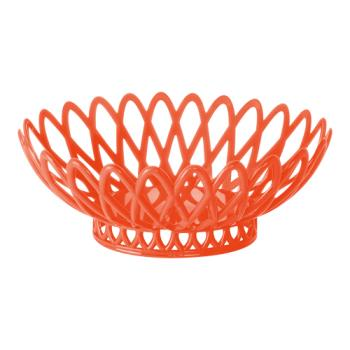 GETOB940RO - GET Enterprises - OB-940-RO - 10 in x 8 1/2 in Rio Orange Oval Basket Product Image
