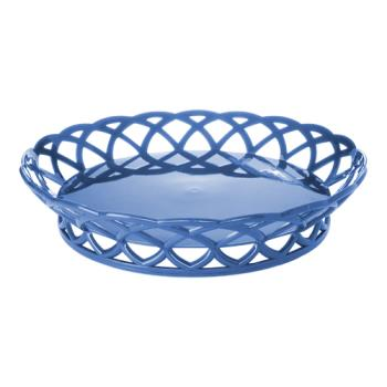 GETRB860PB - GET Enterprises - RB-860-PB - 10 in Peacock Blue Round Basket Product Image
