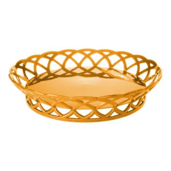 GETRB860TY - GET Enterprises - RB-860-TY - 10 in Tropical Yellow Round Basket Product Image