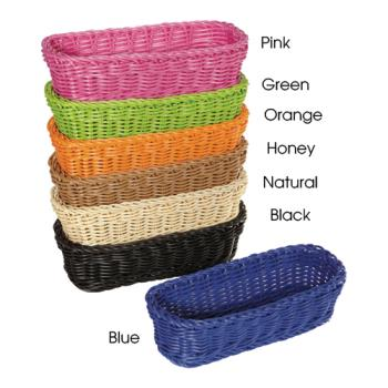 GETWB1507H - GET Enterprises - WB-1507-HY - 10 in Designer Polyweave Honey Basket Product Image
