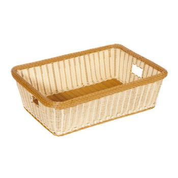 GETWB1517TT - GET Enterprises - WB-1517-TT - Designer Polyweave Two-Tone 23 in x 17 in Basket Product Image