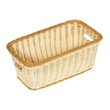 76157 - GET Enterprises - WB-1520-TT - Designer Polyweave Two-Tone 16 in x 9 in Basket Product Image