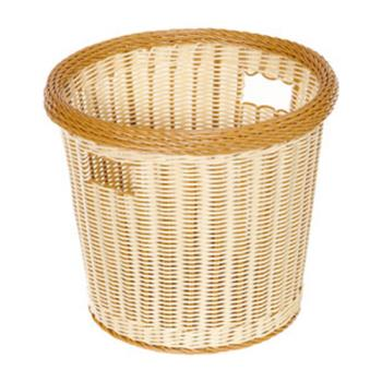 GETWB1522TT - GET Enterprises - WB-1522-TT - Designer Polyweave Two-Tone 14 in Round Basket Product Image