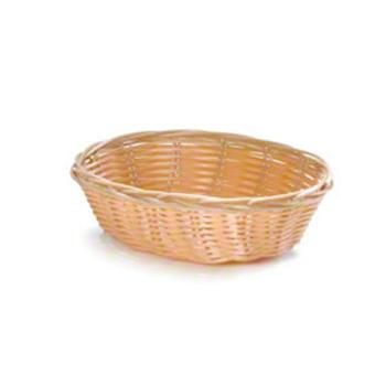 58689 - Tablecraft - 1176W - 10 in Oval Natural Woven Basket Product Image