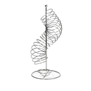 86580 - Tablecraft - FSP1507 - 19 in Vertical Spiral Wire Fruit Basket Product Image