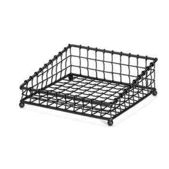 85689 - Tablecraft - GM1212 - 12 in x 12 in Black Basket Product Image