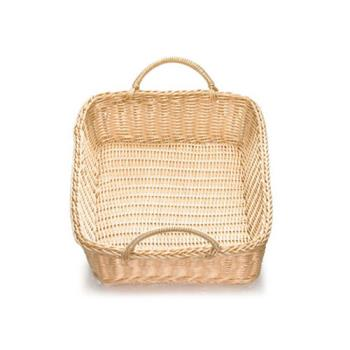 TABM1193WH - Tablecraft - M1193WH - 19 in x 4 in Ridal Woven Basket Product Image