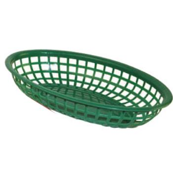 WINPFB10G - Winco - PFB-10G - Oval Green  Fast Food Basket Product Image