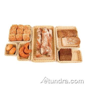 WOR4296713 - World Cuisine - 42967-13 - Full Size Polyrattan Bread Basket Product Image