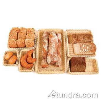 WOR4296714 - World Cuisine - 42967-14 - Half Size Polyrattan Bread Basket Product Image
