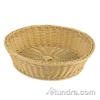 "WOR4296838 - World Cuisine - 42968-38 - 15"" Round Polyrattan Bread Basket Product Image"