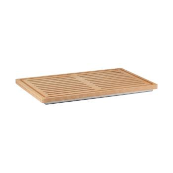 GETETO000E001 - GET Enterprises - ETO000E001 - 22 4/5 in x 14 4/5 in FRILICH Elegance™ Wooden Bread Board Product Image