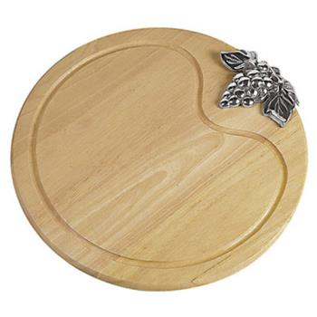 WOR4165840 - World Cuisine - 41658-40 - 15 3/4 in x 3/4 in Round Cheese Board Product Image