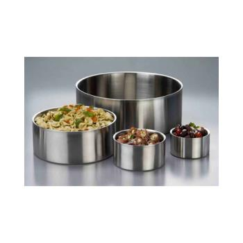 "AMMDWB10 - American Metalcraft - DWB10 - 10"" Double Wall Stainless Steel Bowl  Product Image"