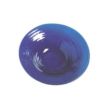 AMMGBB15 - American Metalcraft - GBB15 - Glacier 15 in Blue Glass Bowl Product Image