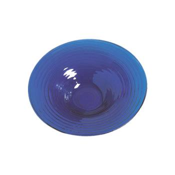 AMMGBB20 - American Metalcraft - GBB20 - Glacier 18 1/2 in Blue Glass Bowl Product Image
