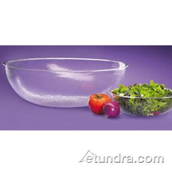 "CLM4012434 - Cal-Mil - 401-24-34 - 24"" Pebbled Acrylic Salad Bowl Product Image"