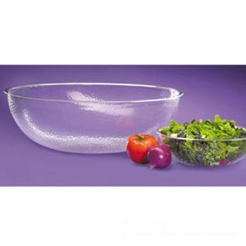 CLM4012434 - Cal-Mil - 401-24-34 - 24 in Pebbled Acrylic Salad Bowl Product Image