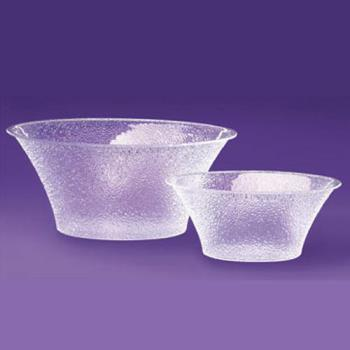 CLM4031534 - Cal-Mil - 403-15-34 - 15 in Pebbled Acrylic Bell Bowl Product Image