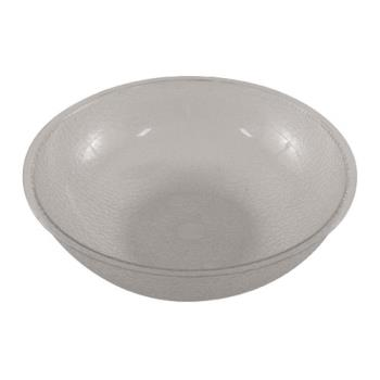 85731 - Cambro - PSB12176 - 12 in Clear Camwear® Pebbled Bowl Product Image