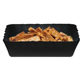 CAMSFR1012110 - Cambro - SFR1012 - ShowFest® 4.5 Qt  Black Rectangular Dish Product Image