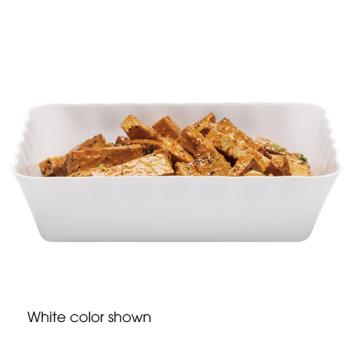 CAMSFR1012148 - Cambro - SFR1012 - ShowFest® 4.5 Qt White Rectangular Dish Product Image
