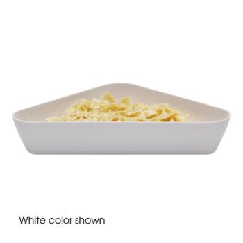 CAMSFT1212148 - Cambro - SFT1212 - ShowFest® 3 Qt White Triangular Dish Product Image