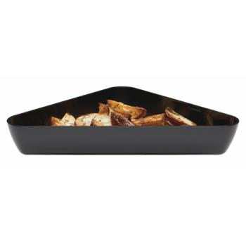 CAMSFT1515110 - Cambro - SFT1515 - ShowFest® 4.5 Qt Black Triangular Dish Product Image