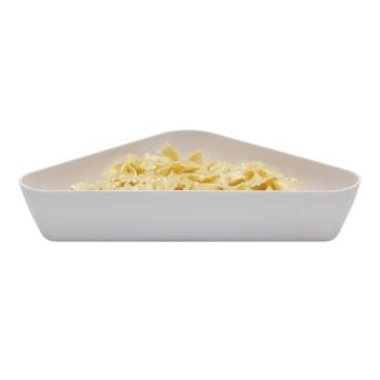 CAMSFT1515148 - Cambro - SFT1515148 - ShowFest® 4.5 qt White Triangular Dish Product Image