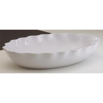 CAMSFV1015148 - Cambro - SFV1015148 - ShowFest® 3 Qt White Oval Bowl Product Image