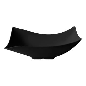 GETML220BK - GET Enterprises - ML-220-BK - San Michele Black 4 qt Flare Bowl Product Image