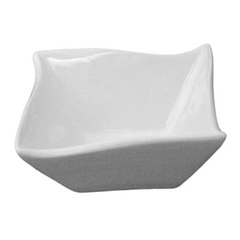 ITWFA11 - ITI - FA-11 - 11 oz Porcelain White Wave Fruit Dish Product Image