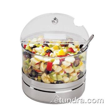 "WOR4144810 - World Cuisine - 41448-10 - 5 1/2"" Round Tall Cooling Container w/Lid Product Image"
