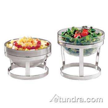 "WOR4296123 - World Cuisine - 42961-23 - 9"" Round Stainless Bowl Product Image"