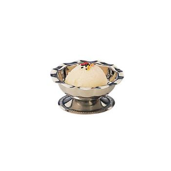 AMM3500 - American Metalcraft - 3500 - 3 1/2 oz Stainless Steel Footed Sherbet Dish Product Image