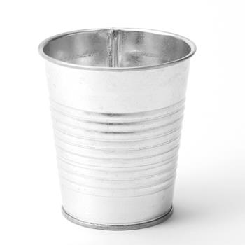 74995 - American Metalcraft - FGS335 - 10 oz Galvanized Soup Can Product Image