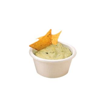 AMMMRS150W - American Metalcraft - MRS150W - 1 1/2 oz White Melamine Smooth Ramekin Product Image