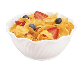 CAMSRB13CW148 - Cambro - SRB13CW148 - Camwear® Swirl Bowl® 13 oz White Serving Dish Product Image