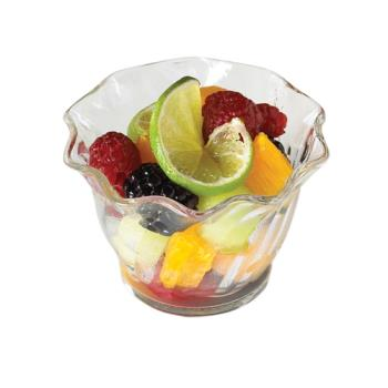 CAMSRB5152 - Cambro - SRB5152 - SAN Swirl Bowl® 5 oz Clear Serving Dish Product Image