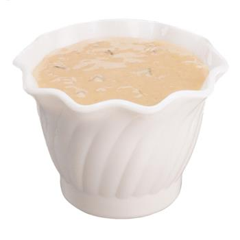 CAMSRB5CW148 - Cambro - SRB5CW148 - Camwear® Swirl Bowl® 5 oz White Serving Dish Product Image
