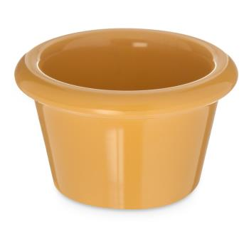 CFSS27522 - Carlisle - S27522 - 1 1/2 oz Honey Yellow Smooth Ramekin Product Image