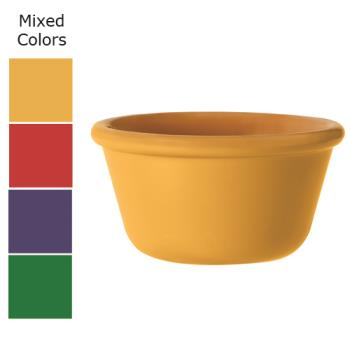 GETRM400MIX - GET Enterprises - RM-400-MIX - 4 oz Mardi Gras Mix Plain Melamine Ramekin Product Image