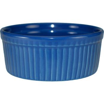 ITWRAMF10LB - ITI - RAMF-10-LB - 8 oz Light blue fluted ramekin Product Image