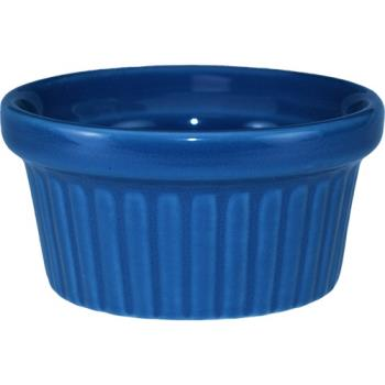ITWRAMF2LB - ITI - RAMF-2-LB - 2 oz Light blue fluted ramekin Product Image