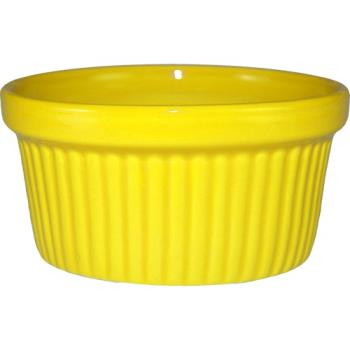 ITWRAMF3Y - ITI - RAMF-3-Y - 3 oz Yellow fluted ramekin Product Image