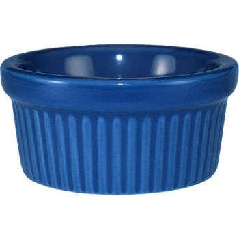ITWRAMF4LB - ITI - RAMF-4-LB - 4 oz Light blue fluted ramekin Product Image