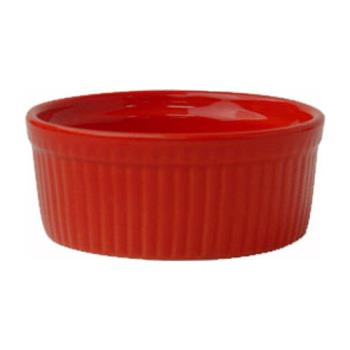 ITWRAMF4R - ITI - RAMF-4-R - 4 oz Red fluted ramekin Product Image