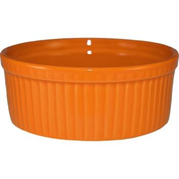 ITWRAMF8O - ITI - RAMF-8-O - 6 oz Orange fluted ramekin Product Image
