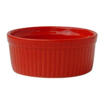 ITWRAMF8R - ITI - RAMF-8-R - 6 oz Red fluted ramekin Product Image