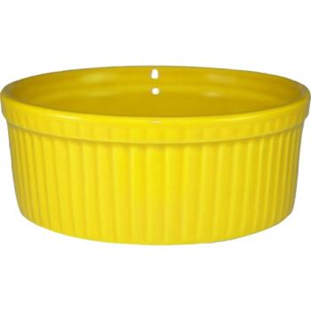 ITWRAMF8Y - ITI - RAMF-8-Y - 6 oz Yellow fluted ramekin Product Image